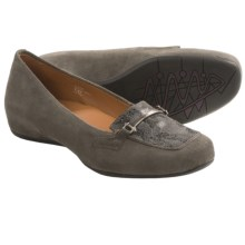 Earthies Alora Shoes (For Women) in Dusty Grey Suede - Closeouts