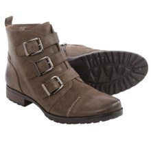 Earthies Carlow Leather Ankle Boots (For Women) in Stone Vintage Leather - Closeouts