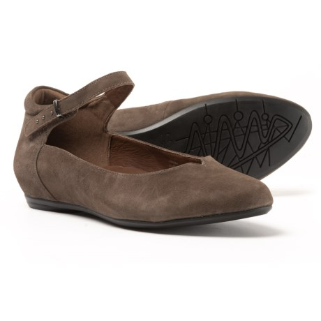 Earthies Emery Shoes - Suede (For Women) in Slate Suede