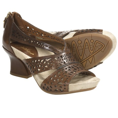 Earthies Ensenada Sandals - Leather (For Women) in Almond Calf