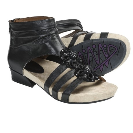 Earthies Eviya Gladiator Sandals - Leather (For Women)
