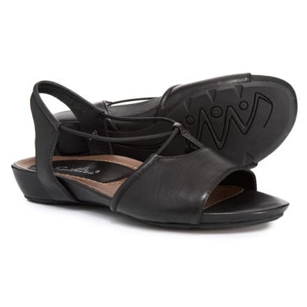70f42bbb2c0 Earthies Lacona Quarter Strap Sandals (For Women) in Black