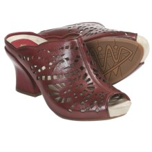 Earthies Laguna Sandals - Leather (For Women) in Regal Red Calf - Closeouts