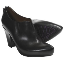 Earthies Mareesa High Heel Shoes - Leather (For Women) in Black - Closeouts