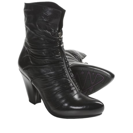 Earthies Montera Boots - Leather (For Women) in Black
