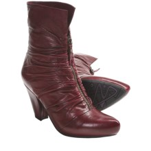 Earthies Montera Boots - Leather (For Women) in Red - Closeouts