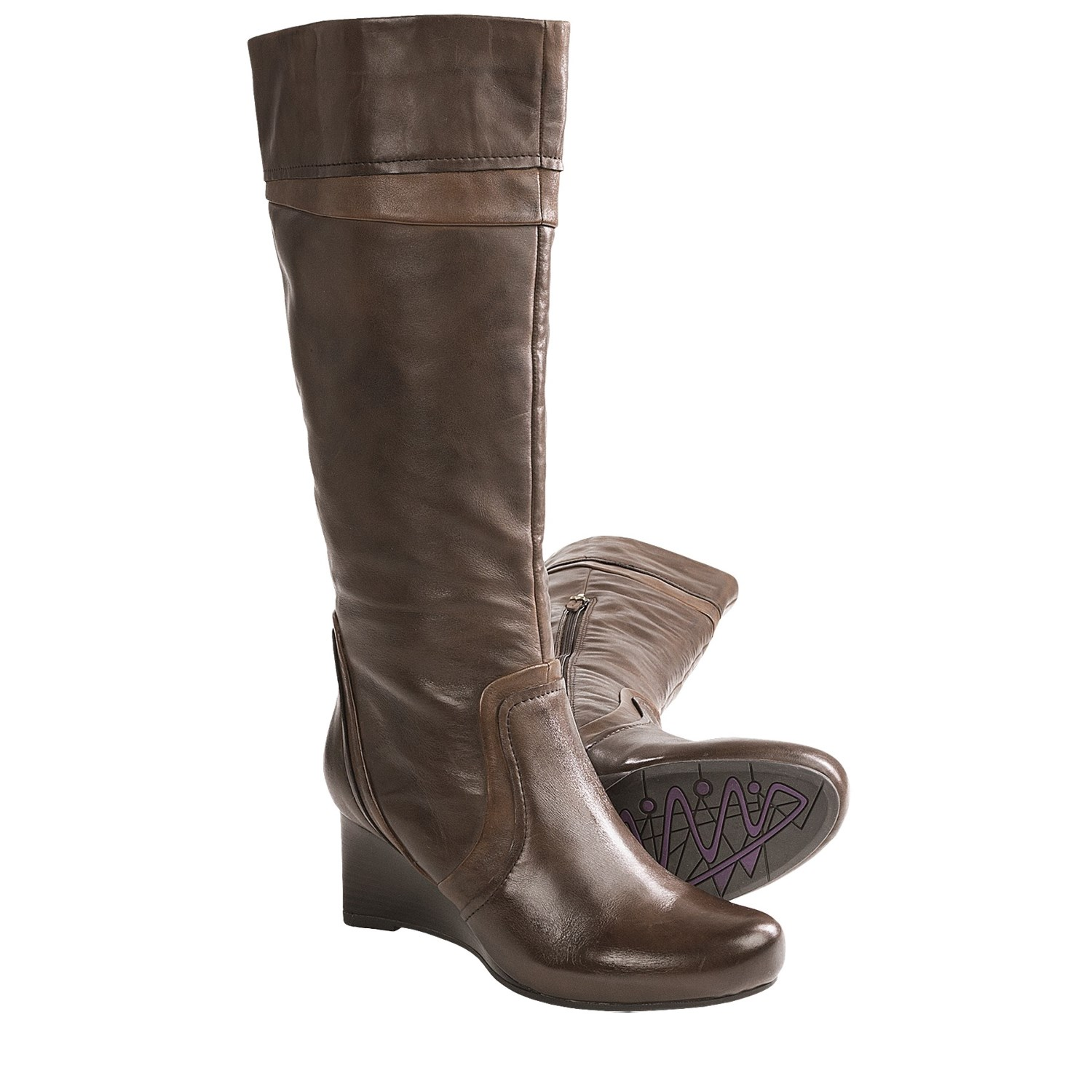 3932a6a6b2a7 Earthies Newcastle Tall Boots Leather For Women Save 63