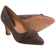 Earthies Prantini Pumps - Suede (For Women) in Dark Taupe Suede - Closeouts