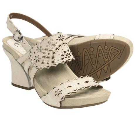 Earthies Rosarito Sandals - Leather (For Women) in Desert Nubuck
