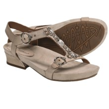 Earthies Santini Sandals - Leather (For Women) in Biscuit Calf - Closeouts