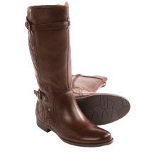 Earthies Sevilla Leather Boots (For Women) in Bark Calf - Closeouts