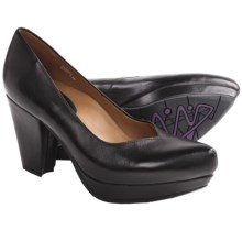 Earthies Tarnow Pumps (For Women) in Black Leather - Closeouts