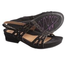 Earthies Vanya Shoes - Slip-Ons (For Women) in Orange Multi Fabric