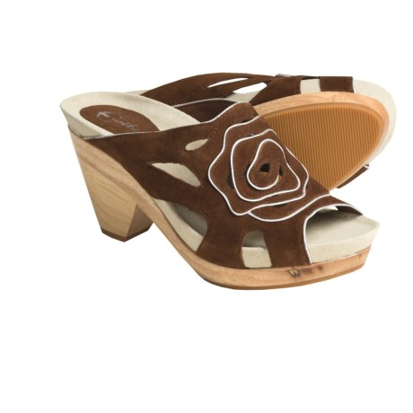 Earthies Tropez Sandals (For Women) in Brown