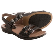 Earthies Verdon Sandals (For Women) in Black - Closeouts