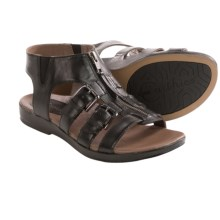 Earthies Versailles Gladiator Sandals (For Women) in Black - Closeouts