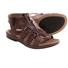 Earthies Versailles Gladiator Sandals (For Women) in Deep Mahogany - Closeouts