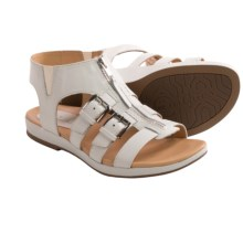 Earthies Versailles Gladiator Sandals (For Women) in White - Closeouts