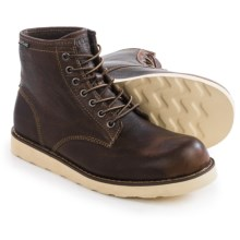 Eastland Barron Plain Toe Boots - Suede (For Men) in Brown - Closeouts