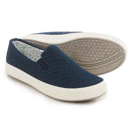 Eastland Breezy Shoes - Slip-Ons (For Women) in Navy - Closeouts