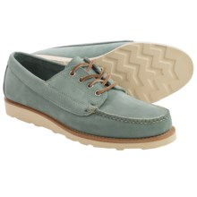 Eastland Bremen USA Camp Moc Oxford Shoes - Leather (For Men) in Light Blue - Closeouts