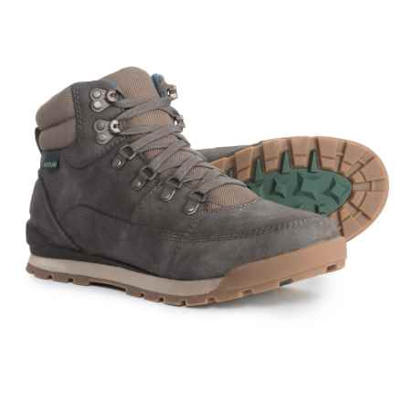 Eastland Canyon Hiking Boots (For Men) in Grey Leather Finish - Closeouts