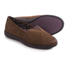 Eastland Evelyn Leather Shoes - Slip-Ons (For Women) in Brown - Closeouts