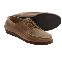 Eastland Falmouth USA 2 Camp Moc Oxford Shoes - Leather-Canvas (For Men) in Oak - Closeouts