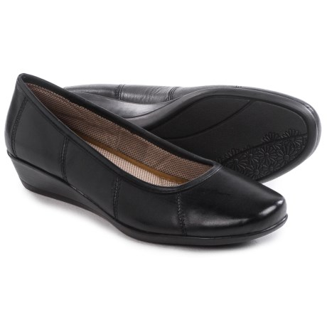 Eastland Hannah Wedge Shoes Leather (For Women)