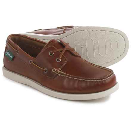 Eastland Kittery 1955 Boat Shoes - Leather (For Men) in Dark Tan - Closeouts
