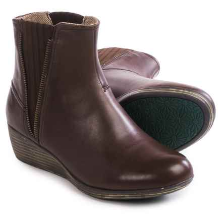 Eastland Layla Ankle Boots - Leather (For Women) in Brown - Closeouts