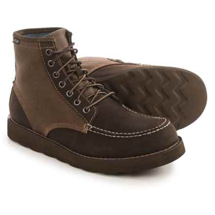 Eastland Lumber Up Moc-Toe Boots - Suede (For Men) in Brown - Closeouts