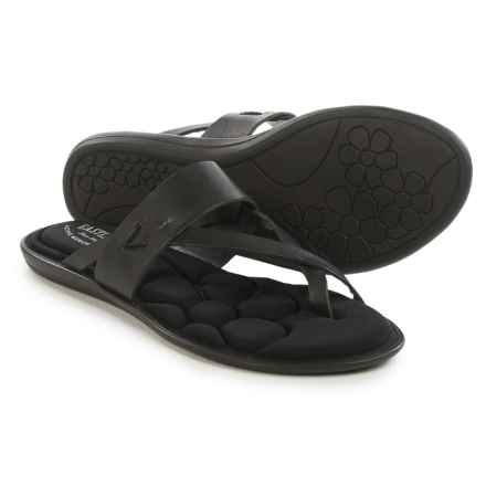 Eastland Misty Flip-Flops - Leather (For Women) in Black - Closeouts