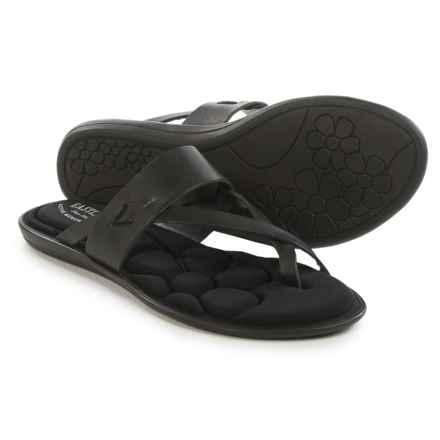 Eastland Misty Flip-Flops - Leather (For Women) in Black - Closeouts