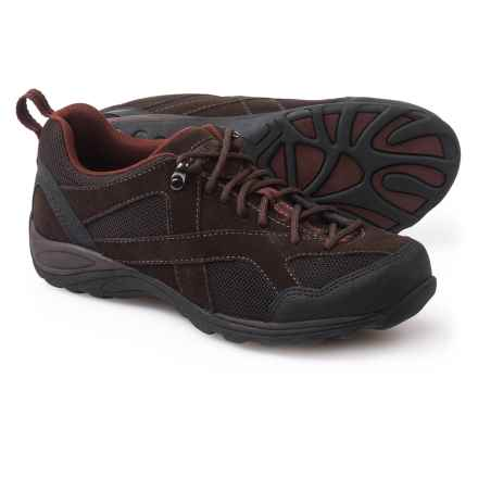 Eastland Odessa Hiking Shoes - Suede (For Women) in Dark Brown/Maroon - Closeouts