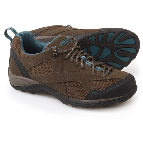 Eastland Odessa Hiking Shoes - Suede (For Women) in Olive Green/Smokey Blue