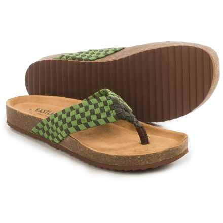 Eastland Ophella Sandals (For Women) in Green - Closeouts