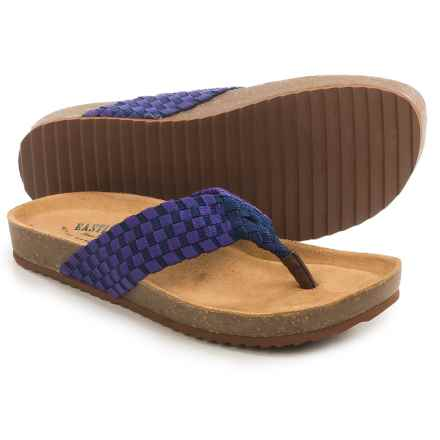 Eastland Ophella Sandals (For Women) in Navy - Closeouts