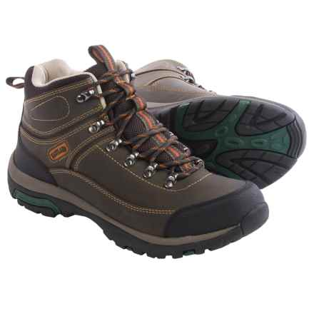 Eastland Rutland Hiking Boots - Leather (For Men) in Brown Full Grain Leather - Closeouts
