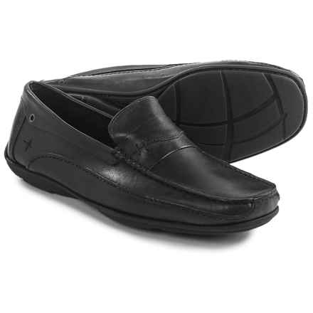 Eastland Sebring Driving Moc Loafers - Leather (For Men) in Black - Closeouts