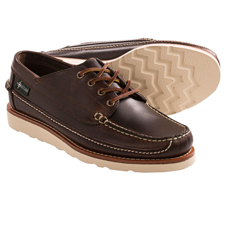 Eastland Stoneham 1955 Camp Moc Oxford Shoes (For Men) in Chestnut