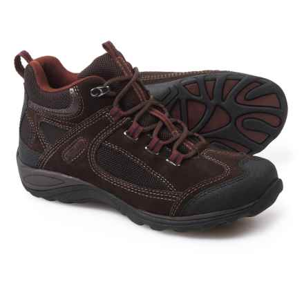 Eastland Tacoma Mid Hiking Boots - Suede (For Women) in Dark Brown/Maroon - Closeouts