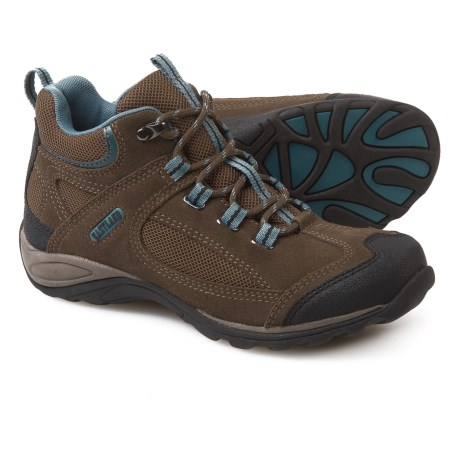 Eastland Tacoma Mid Hiking Boots - Suede (For Women) in Olive Green/Smokey Blue
