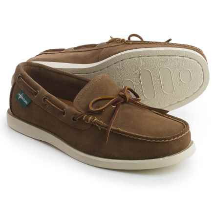 Eastland Yarmouth 1955 Boat Shoes - Leather (For Men) in Khaki - Closeouts