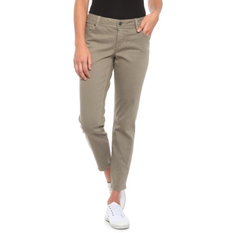 Image of Easy Ankle Skinny Jeans - Mid Rise (For Women)