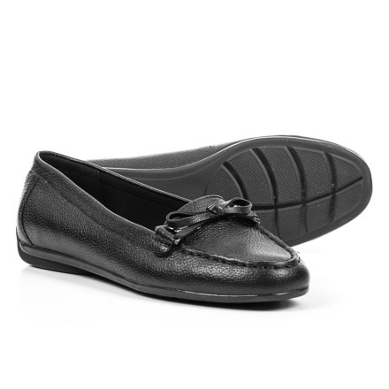 9e196588b19c Easy Spirit Antil Loafers - Leather (For Women) in Black - Closeouts