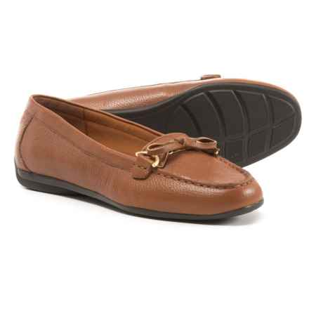 25b1066a000d1 Easy Spirit Antil Loafers - Leather (For Women) in Light Brown - Closeouts