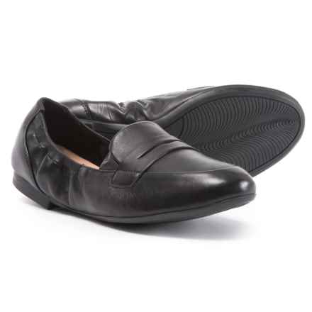 afe618c6d374 Easy Spirit Crensia Loafers - Leather (For Women) in Black - Closeouts