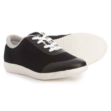 b4b3aa15f67e68 Easy Spirit Deiny Sneakers (For Women) in Black - Closeouts