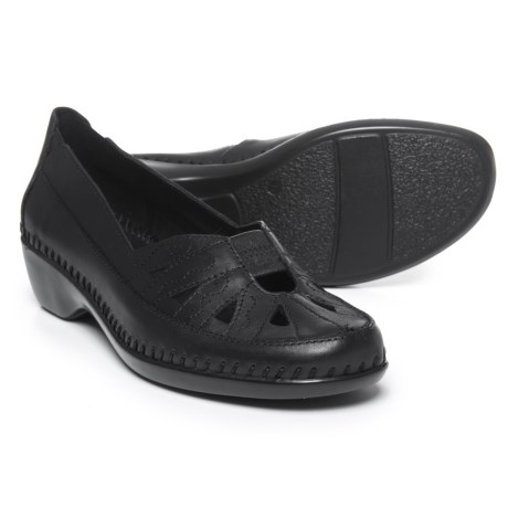 Easy Spirit Dixiee Shoes - Leather (For Women) in Black
